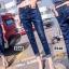 เสื้อผ้าแฟชั่นพร้อมส่ง กางเกงยีนส์ทรงเดฟ ผ้ายีนส์ฮ่องกง thumbnail 8