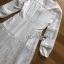 ชุดเดรสเกาหลีพร้อมส่ง เดรสผ้าคอตตอนตกแต่งลูกไม้สีขาวสไตล์ซัมเมอร์ thumbnail 8