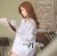 ( พร้อมส่งเสื้อผ้าเกาหลี) เสื้อเชิ้ตแขนสั้นมีดีเทลติดกระดุมด้านหน้า ช่วงอกลูกไม้ ผ้าเนื้อบางซีทรู แอบเซ็กซี่ มิกซ์แอนด์แมตช์กับท่อนล่างได้หลายแบบหลายสี เปลี่ยนลุคได้ตลอดเวลา สไตลคลาสสิกไม่ตกยุคหยิบมาใส่ไดนานไม่มีเบื่อ thumbnail 5