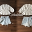 เสื้อผ้าเกาหลีพร้อมส่ง T-Shirt Circle Outfit Sweet Skirt Jean thumbnail 5