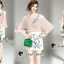 เสื้อผ้าเกาหลีพร้อมส่ง งานเซ็ทสวยหวานลุคสาวสไตล์เกาหลี thumbnail 3