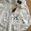 เสื้อผ้าเกาหลี พร้อมส่งเชิ้ตขาวตกแต่งผ้าตาข่ายและผ้าปักลายดอกไม้ thumbnail 12