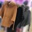 เสื้อผ้าแฟชั่นเกาหลีพร้อมส่ง สเวตเตอร์ฮู้ด ขนเฟอร์ น่าร้ากกกสุดๆค่ะ thumbnail 9