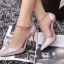 รองเท้านำเข้าพร้อมส่ง รับประกันคุณภาพ ใส่ดี ไม่ซ้ำใครจร้า.. รองเท้าส้นสูงหัวแหลม หนังกลิตเตอร์ฟรุ้งฟริ้ง thumbnail 1