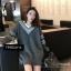 เสื้อผ้าแฟชั่นเกาหลีพร้อมส่ง ใหม่ ใหญ่จุใจ สาวๆใส่เป็นเดรสได้เลยน้าา thumbnail 3