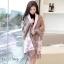 เสื้อคลุมสไตล์เกาหลี ผ้าwool 100% มี 3 สี thumbnail 2