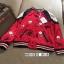 เสื้อผ้าแฟชั่นเกาหลีพร้อมส่ง Jacket (devil)devil สีแดงผ้าซาตินสีแดงสวยมากๆ thumbnail 4
