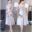Luxurious Silver Embroidered Fashion Korea thumbnail 2