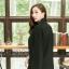 เสื้อผ้าแฟชั่นเกาหลีพร้อมส่ง เสื้อคลุมเบเซอร์สีดำ รุ่นนี้ทรงปล่อยๆ thumbnail 7