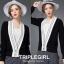 เสื้อผ้าแฟชั่นเกาหลีพร้อมส่ง เสื้อคลุมไหมพรมสไตล์เกาหลี thumbnail 4