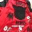 เสื้อผ้าแฟชั่นเกาหลีพร้อมส่ง Jacket (devil)devil สีแดงผ้าซาตินสีแดงสวยมากๆ thumbnail 6