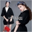 Olivia Elegant Lace Trimmed Mini Coat with Belt thumbnail 7