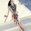 ( พร้อมส่ง) ชุดเซ็ตเสื้อกระโปรงแบรนเนม จากแบรนด์ Anaman ตัวเสื้อแขนกุดตัดเย็บแบบเสื้อกล้าม กระโปรงมีซิปด้านหลัง พิมพ์ลายแฟชั่นแคทวอลท์ดาว พิมพ์ลายละเอียดคมสวย ชัดเจน งานตัวนี้ไม่ใช่งานตลาดทั่วไปนะคะ thumbnail 1