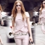 เสื้อผ้าเกาหลีพร้อมส่ง T-Shirt Lace Sweet Pastel Set thumbnail 6