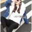 Diana Extra Fur-Collar Denim Jacket thumbnail 7
