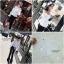 เสื้อผ้าเกาหลีพร้อมส่ง เสื้อปาดไหล่สีขาวแขนยาว สม้อกทั้งตัว thumbnail 4