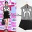 เสื้อผ้าเกาหลี พร้อมส่ง เซ็ทเสื้อ+กางเกงขาสั้น thumbnail 2