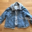 Karina Denim Jacket Shearling Hood Coat thumbnail 7