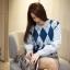 เสื้อผ้าเกาหลีพร้อมส่ง งานดีผ้าไม่คันใส่สบาย เหมือนจบจากไฮสคูลที่ บอสตันเลยจ้า thumbnail 2