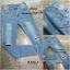เสื้อผ้าเกาหลีพร้อมส่ง กางเกงยีนส์ แฟชั่น ขายาว ทรงเดป thumbnail 6