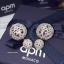APM Earring ต่างหูเพชร CZ แท้แบรนด์ APMพร้อมส่ง thumbnail 2