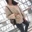 เสื้อผ้าแฟชั่นเกาหลีพร้อมส่ง เสื้อคลุมผ้าทวีต มีมุกติดที่กระเป๋าเสื้อ thumbnail 5