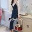 เสื้อผ้าเกาหลีพร้อมส่ง งานเซ็ทเก๋ๆ ทรงสวยด้วยจั้มสูทกางเกง thumbnail 1