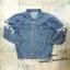 เสื้อผ้าเกาหลีพร้อมส่ง Jeans Jacket ฉลาม thumbnail 3