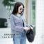 เสื้อผ้าเกาหลีพร้อมส่ง เสื้อคลุมผ้าทวีตแขนยาว งานเกาหลีผ้าดี thumbnail 9