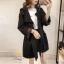 เสื้อผ้าเกาหลีพร้อมส่ง เสื้อคลุมแขนยาว แบบตัวยาวค่ะ thumbnail 9