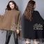เสื้อผ้าแฟชั่นพร้อมส่ง Winter Style with Great-Looking Cuties Dress thumbnail 6