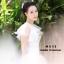 เสื้อผ้าเกาหลีพร้อมส่ง เสื้อซีทรูแขนสั้น ด้านหน้าปักดอกไม้สีสันสดใส thumbnail 4