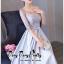 Luxurious Silver Embroidered Fashion Korea thumbnail 6