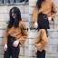 เสื้อผ้าเกาหลีพร้อมส่ง Smooch Sweater เสื้อไหมพรมแขนยาว thumbnail 11