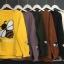 เสื้อผ้าเกาหลีพร้อมส่ง เวตเตอร์ไหมพรมแขนยาวทอลายผึ้งยอดฮิต thumbnail 9