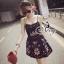 ชุดเดรสเกาหลี พร้อมส่ง Mini Dress ลุคนี้ให้สไตล์คุณหนูแสนซน แอบเปรี้ยวเล็กน้อย thumbnail 1