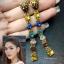 พร้อมส่ง ต่างหู Gucci Lion Head Earring with Crystal thumbnail 3