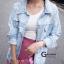เสื้อผ้าเกาหลีพร้อมส่ง รุ่นนี้ทำมาเอาใจสาวๆที่ชื่นชอบเสื้อยีนส์แบบขาดเยอะๆ thumbnail 2