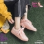 รองเท้าผ้าใบสไตล์เกาหลีสายริบบิ้น thumbnail 2