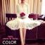 เสื้อผ้าเกาหลี พร้อมส่ง Chanel dress เนื้อผ้าวางชั้นผ้าได้อย่างลงตัว ใช้การตัดเย็บพิเศษอย่างดี thumbnail 1