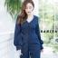 เสื้อผ้าเกาหลีพร้อมส่ง จั้มสูทขายาวทรงสวยห้ามพลาดเลยจ้าตัวนี้ thumbnail 6