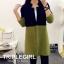 เสื้อผ้าเกาหลีพร้อมส่ง เสื้อคลุมยาวตัวแขนยาวสุดไฮ thumbnail 2