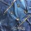 เสื้อผ้าแฟชั่นเกาหลีพร้อมส่ง โค้ตเดรสผ้าเดนิมประดับกระดุมสองแถวตกแต่งซิป thumbnail 8