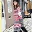 เสื้อผ้าแฟชั่นพร้อมส่ง เสื้อคลุมตัวยาว งานไหมพรมสไตล์เกาหลี thumbnail 3