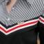 เสื้อผ้าเกาหลีพร้อมส่ง เสื้อแขนสามส่วน งานสวยมากค่า thumbnail 5