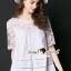 เสื้อผ้าเกาหลีพร้อมส่ง Korea Shirts Lace Chic Chic thumbnail 1