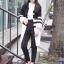 เสื้อผ้าเกาหลีพร้อมส่ง คาดิแกนคลุมกันหนาวแขนยาวสี่ส่วน thumbnail 4
