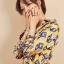 เสื้อผ้าเกาหลีพร้อมส่ง เชิตผ้าซิลซาติน แบรนด์ Gucci thumbnail 2