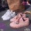 รองเท้าผ้าใบสไตล์เกาหลีสายริบบิ้น thumbnail 1