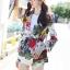 เสื้อผ้าแฟชั่นเกาหลีพร้อมส่ง เสื้อเบรเซอร์ แขนยาวแต่งคอปกมี 3 สี thumbnail 15